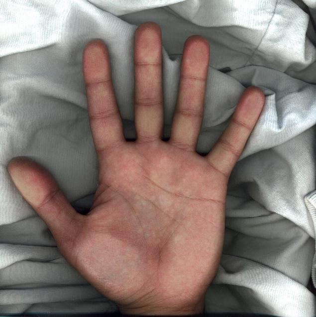 this is my left hand palm